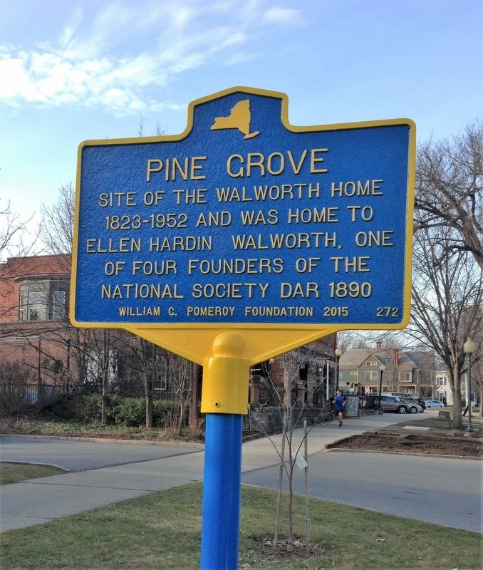 Pine Grove Marker image. Click for full size.