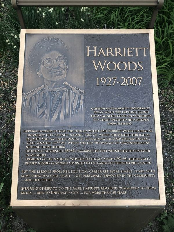 Harriet Woods Marker image. Click for full size.