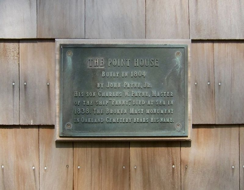 The Point House Marker image. Click for full size.