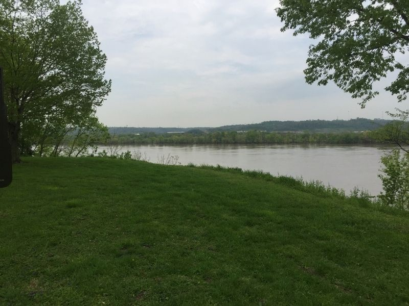 Ohio River At Petersburg image. Click for full size.
