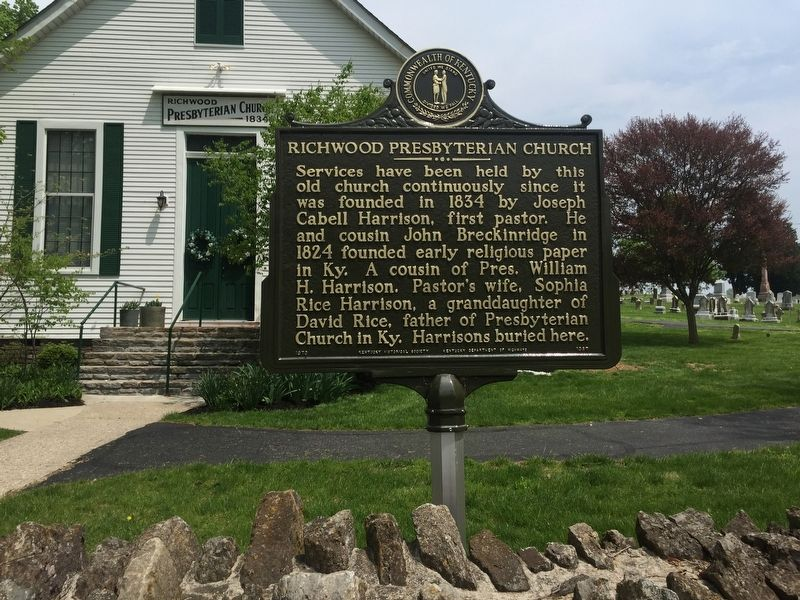 Richwood Presbyterian Church Marker image. Click for full size.