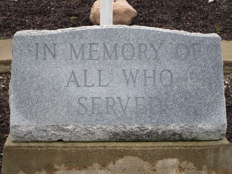 Marilla Veterans Memorial image. Click for full size.