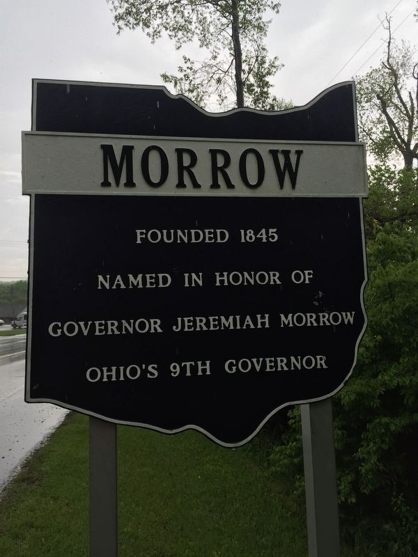 Morrow Marker image. Click for full size.