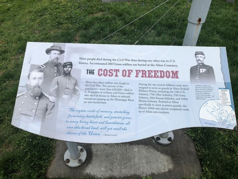 The Cost of Freedom Marker image. Click for full size.
