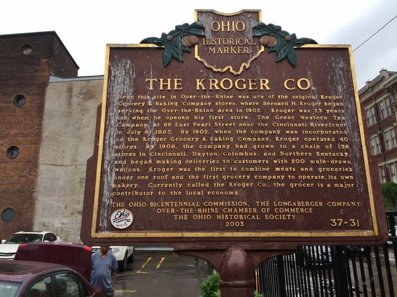 The Kroger Co. Marker image. Click for full size.