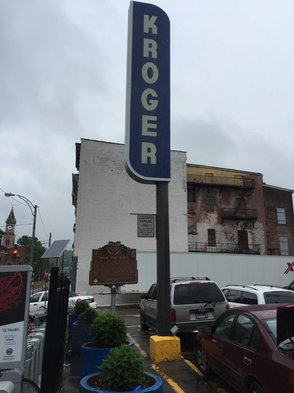 The Kroger Co. / Over-The-Rhine Marker image. Click for full size.