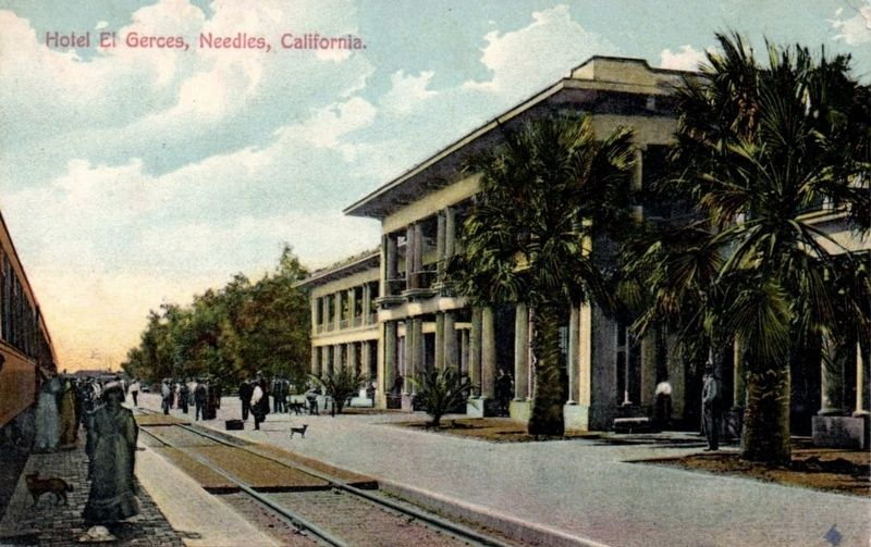 <i>Hotel El Gerces, Needles, California</i> image. Click for full size.