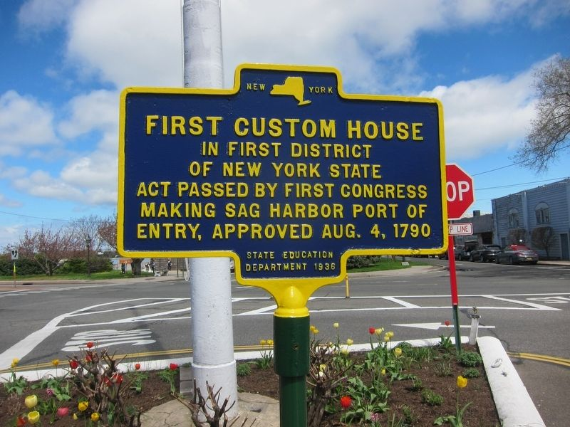 First Custom House Marker image. Click for full size.