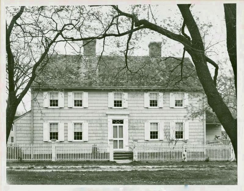 Sag Harbor Customs House - original site, Union and Church Streets image. Click for full size.