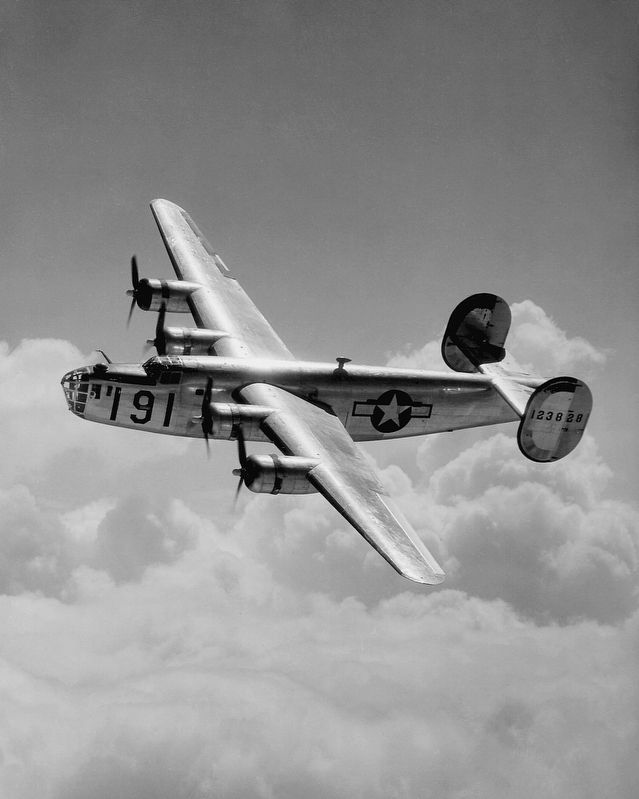A Consolidated B-24 Liberator Heavy Bomber image. Click for full size.