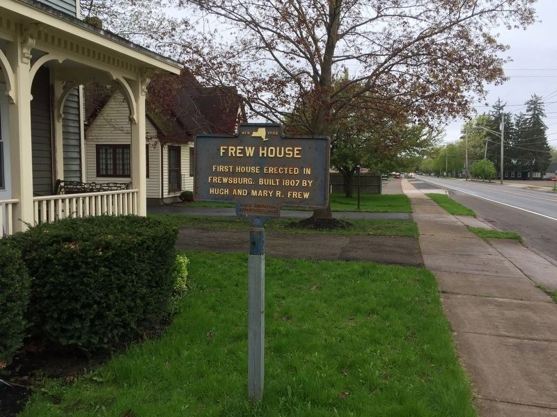 Frew House Marker image. Click for full size.