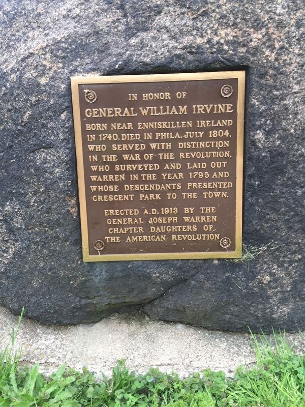 General William Irvine Marker image. Click for full size.