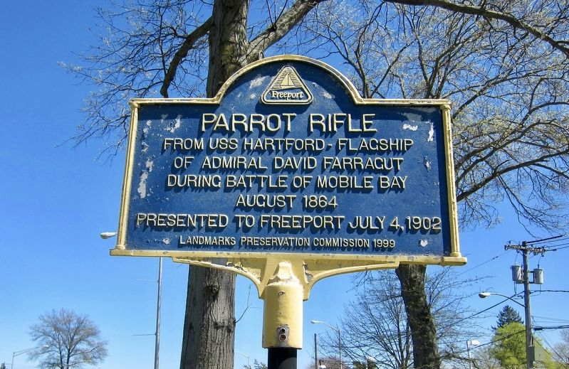 Parrot Rifle Marker image. Click for full size.