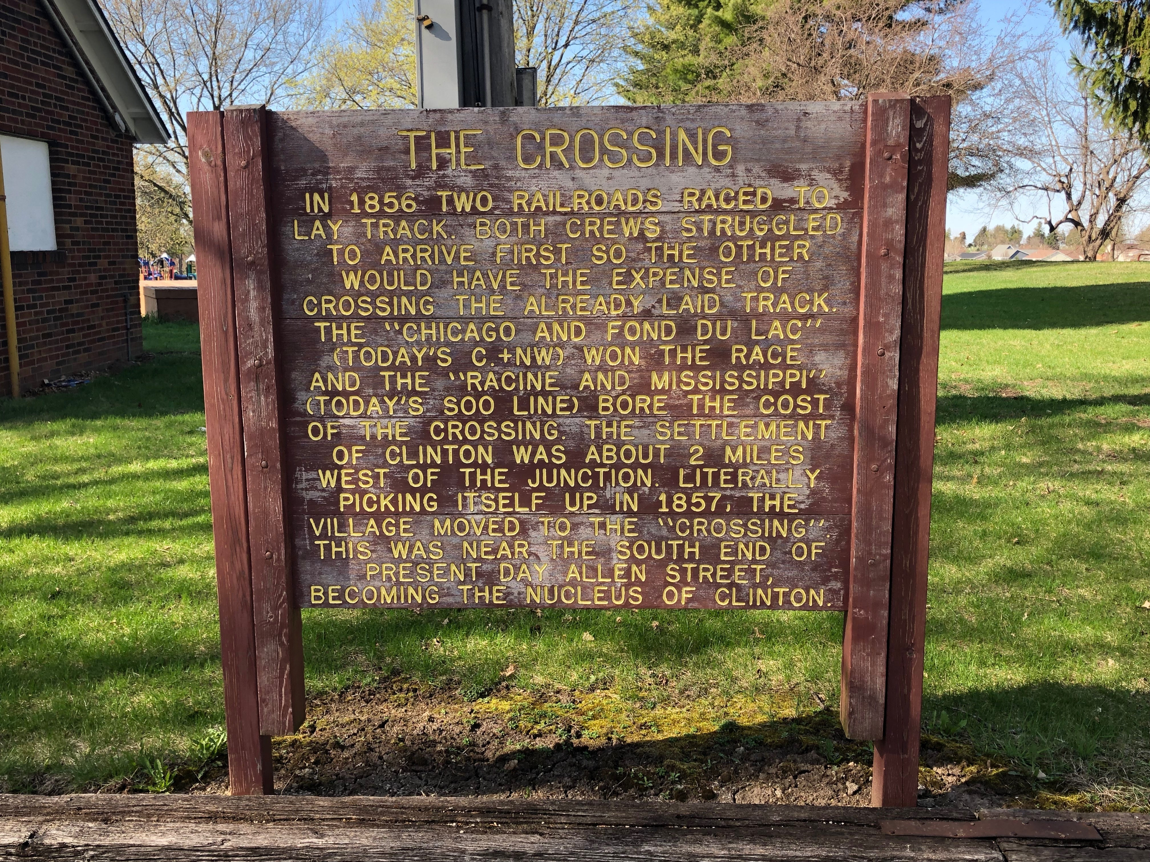 The Crossing Marker