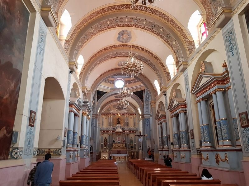 An interior view of the Saint Francis of Assisi Parish image. Click for full size.