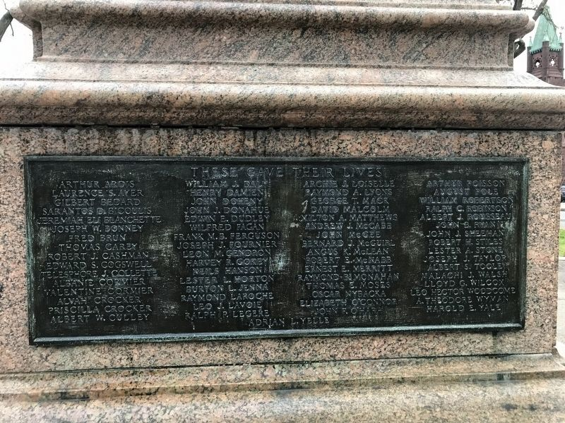 World War l Memorial image. Click for full size.