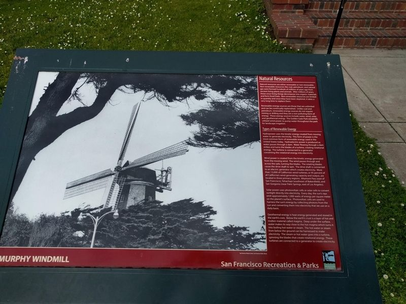 Murphy Windmill Marker image. Click for full size.