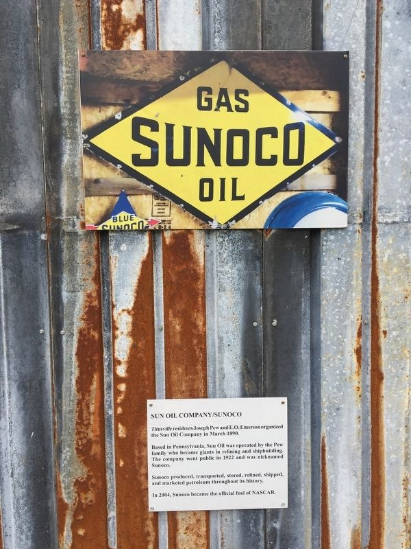 Sunoco Marker image. Click for full size.