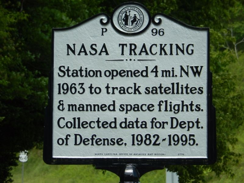NASA Tracking Marker image. Click for full size.