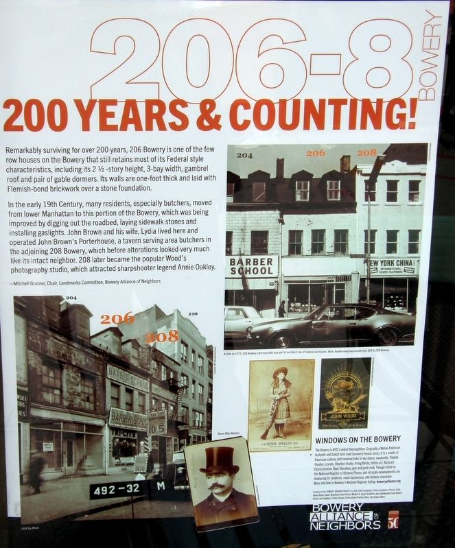 200 Years & Counting Marker image. Click for full size.