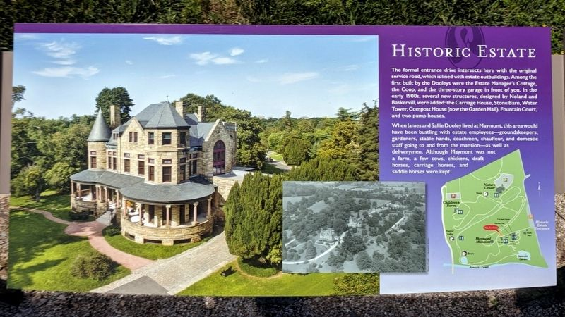 Historic Estate Marker (center panel) image. Click for full size.