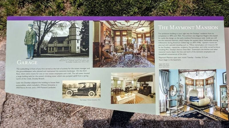 Historic Estate Marker (left panel) image. Click for full size.