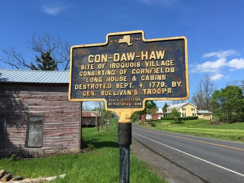 Con-Daw-Haw Marker image. Click for full size.