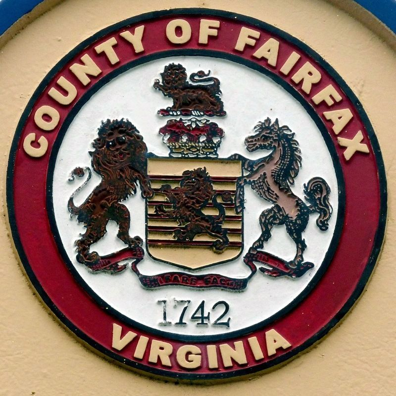 Fairfax County Seal image. Click for full size.