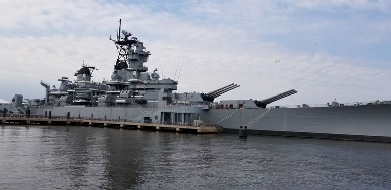 Battleship New Jersey image. Click for full size.