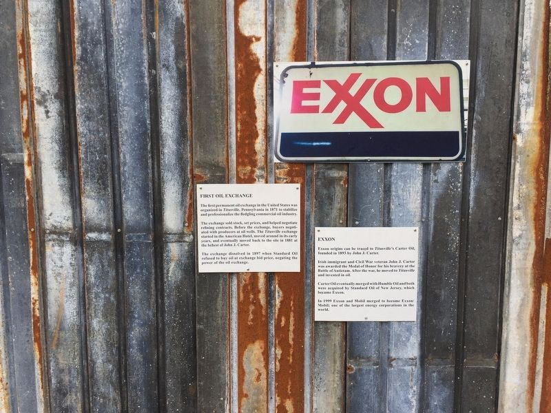 Exxon Marker image. Click for full size.