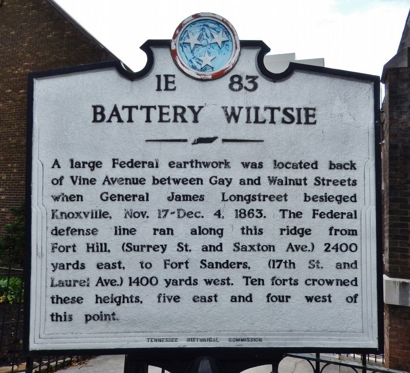 Battery Wiltsie Marker image. Click for full size.