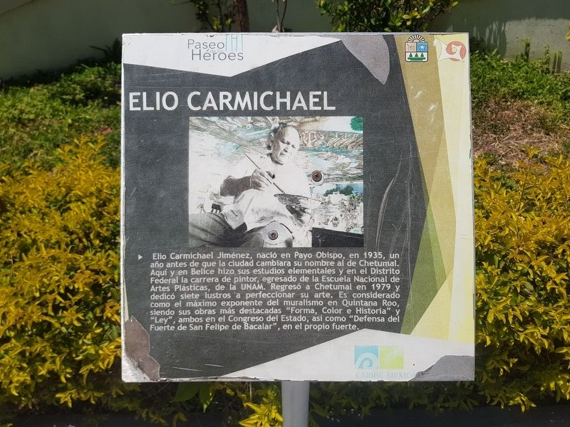 Elio Carmichael Marker image. Click for full size.
