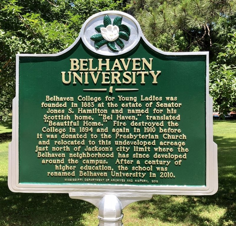 Belhaven University Marker image. Click for full size.