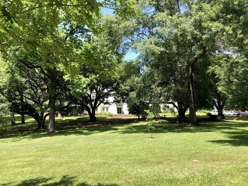 View of nearby Belhaven University Preston Hall. image. Click for full size.