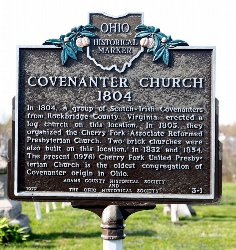 Covenanter Church Marker image. Click for full size.