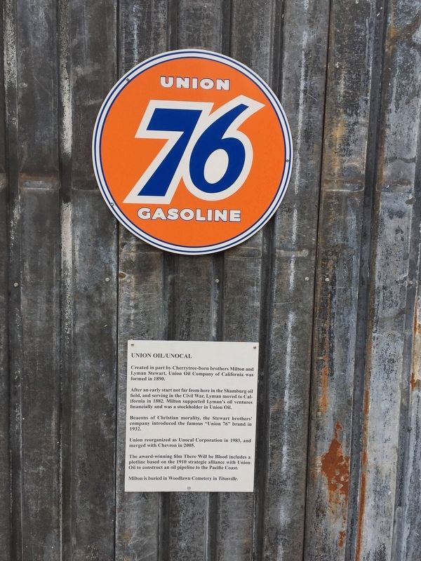 Union 76 Gasoline Marker image. Click for full size.