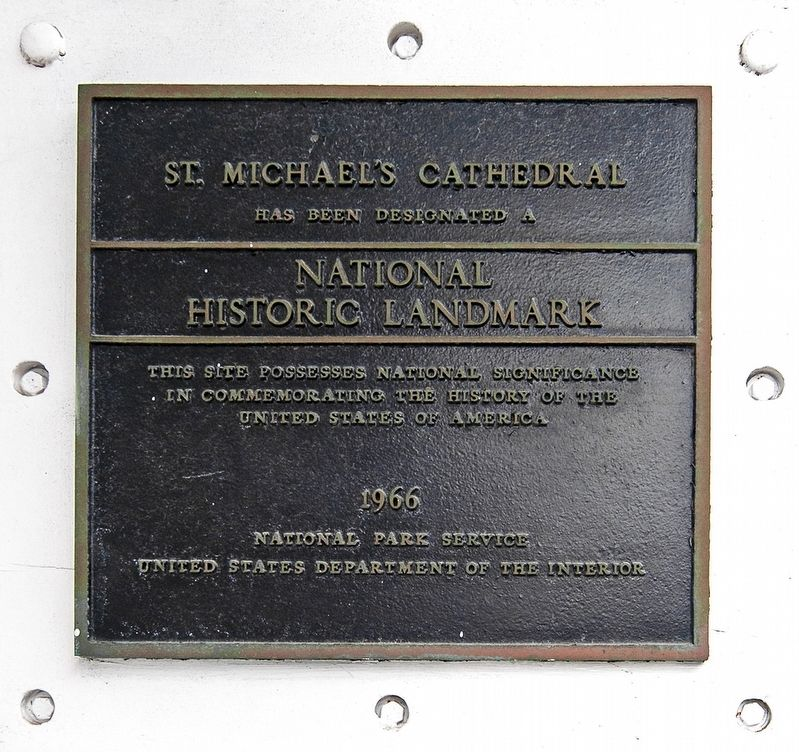 National Historic Landmark 1966 Marker image. Click for full size.