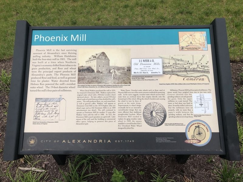 Phoenix Mill Marker image. Click for full size.