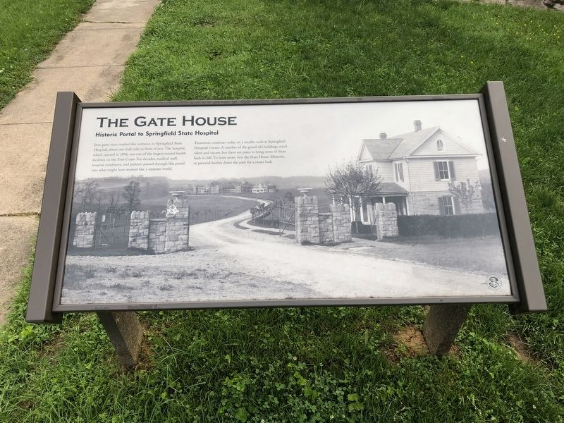 The Gate House Marker image. Click for full size.
