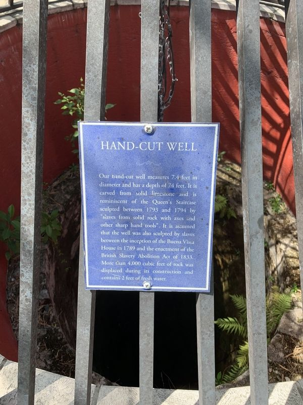 Hand-Cut Well Marker image. Click for full size.