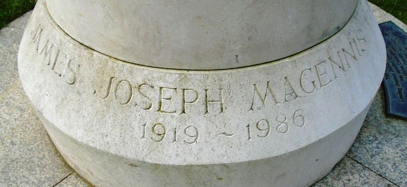 James Joseph Magennis Marker image. Click for full size.