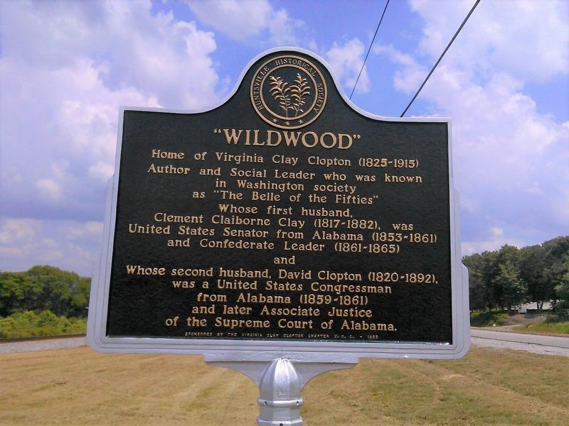 """Wildwood"" Marker - post restoration image. Click for full size."