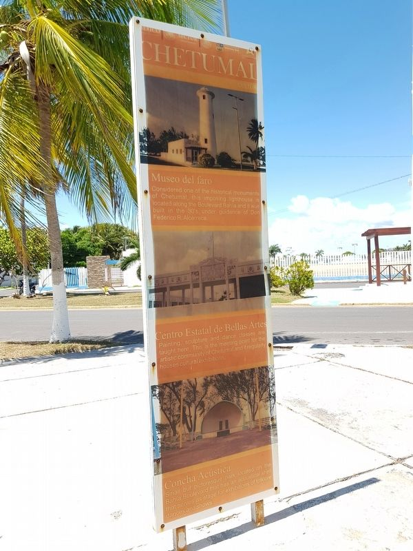 Chetumal Culture Marker English text image. Click for full size.