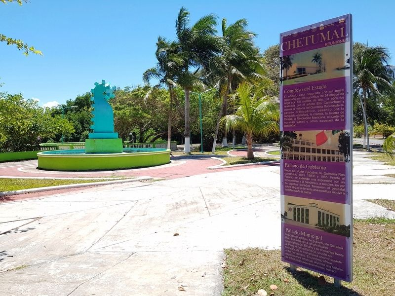 Chetumal Meetings Marker image. Click for full size.