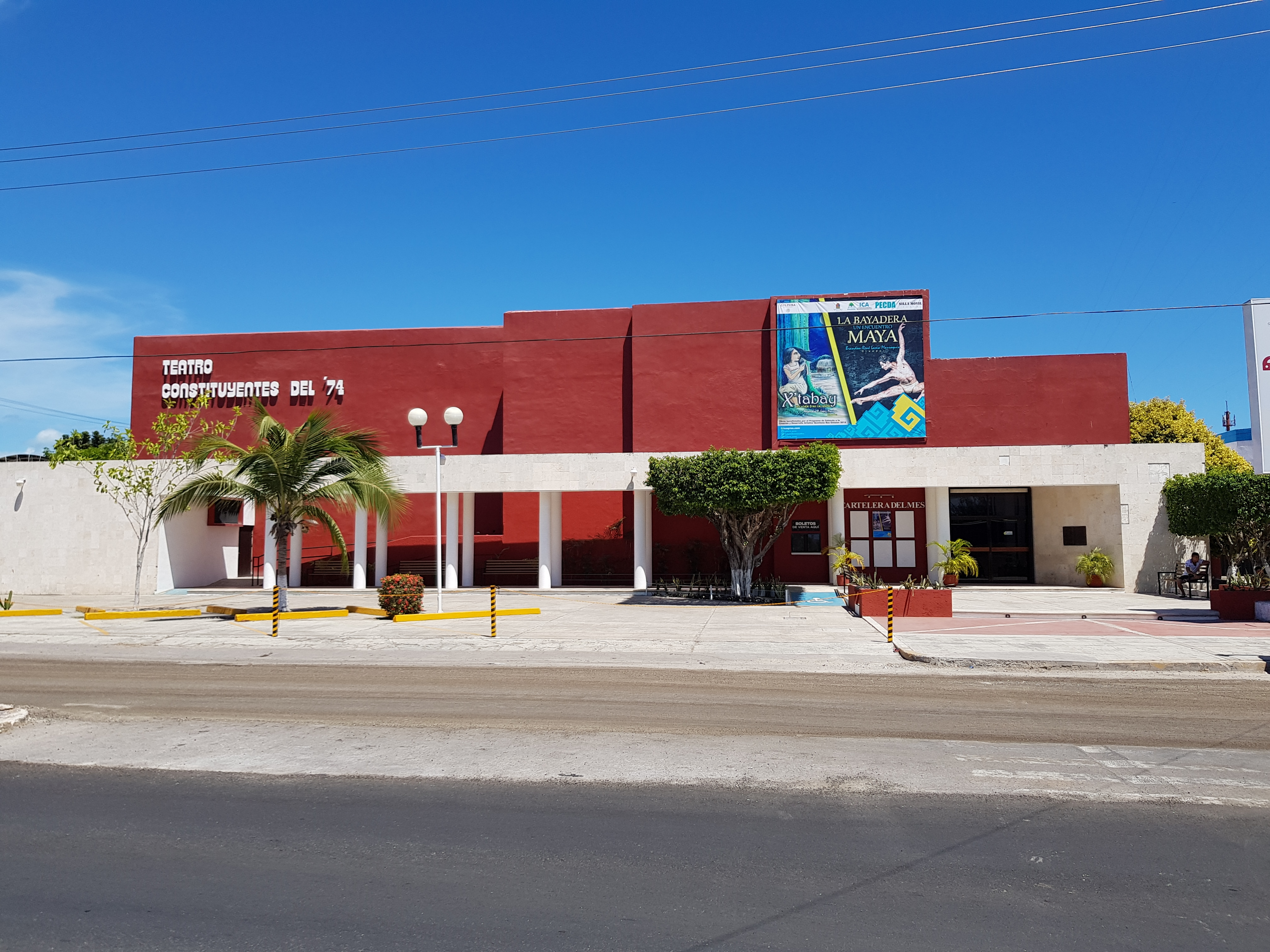 Theater of the City and the Constitution of Quintana Roo Marker