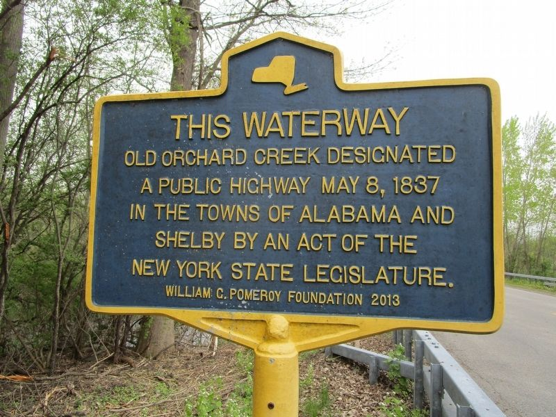 This Waterway Marker image. Click for full size.