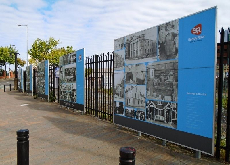 Sandy Row Community Markers image. Click for full size.