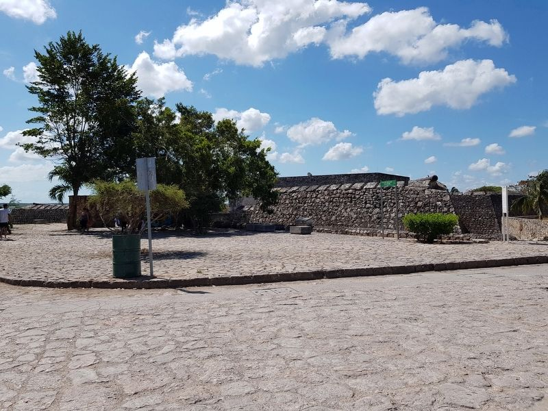 San Felipe Fort and Marker image. Click for full size.