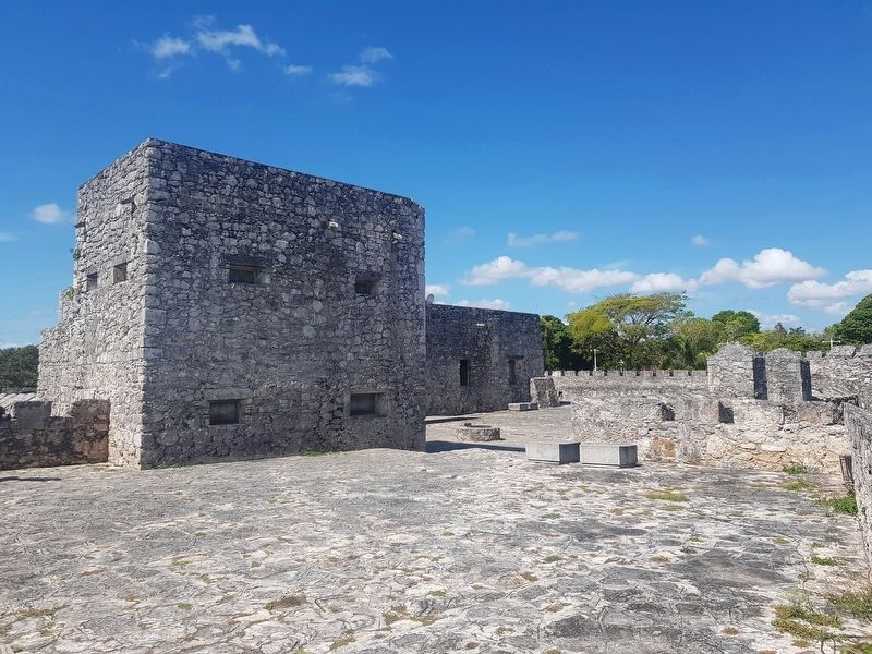 An interior view of San Felipe Fort image. Click for full size.