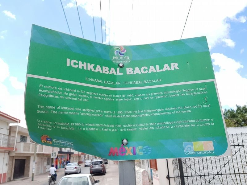 Ichkabal Bacalar Marker image. Click for full size.